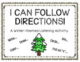 I Can Follow Directions! A Winter-themed Listening Activity