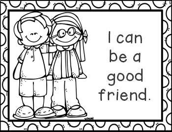 I Can Follow The Classroom Rules Posters And Coloring Pages Tpt
