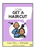I Can Get A Haircut - Social Story For Kids With Autism