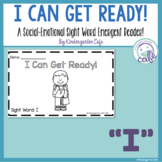 """I Can Get Ready! A Sight Word Emergent Reader """"I"""""""