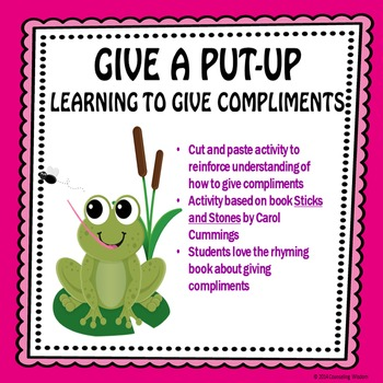 I Can Give Put-Ups Bundle-Learning to Give Compliments