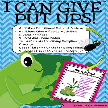 I Can Give Put-Ups II Additional Giving Compliments Activities