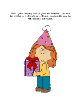 I Can Go To A Birthday Party: A Social Story Book For Kids With Autism