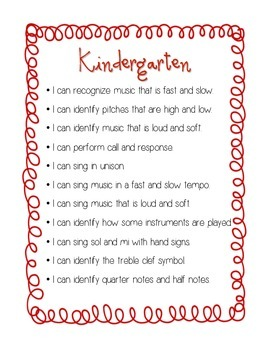 """I Can"" Grades PreK-2 Curriculum Statements Bundle"