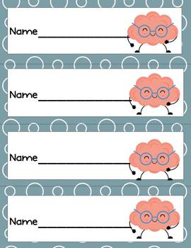 I Can! Growth Mindset Bookmarks Brains