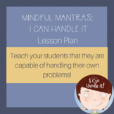 I Can Handle It Lesson Plan
