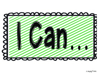 I Can Heading Posters