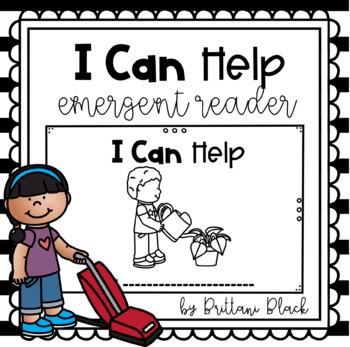 I Can Help~ emergent reader