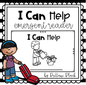 I Can Help- emergent reader