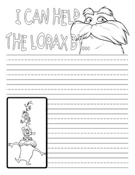 I Can Help the Lorax By: