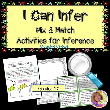 I Can Infer! Mix and Match Inference Activities ( feedback