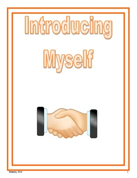 I Can Introduce Myself Social Story