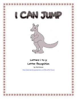 Letter Recognition - I CAN JUMP