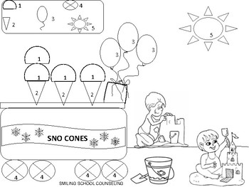 I Can Keep My Cool fun coloring sheets