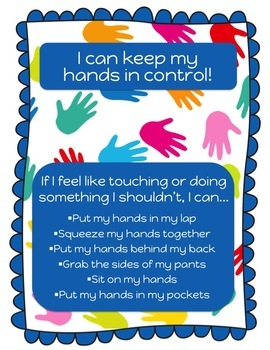 I Can Keep my Hands in Control - Poster