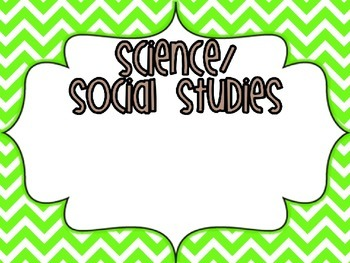 I Can Kids Standards- EDITABLE Science/Social Studies