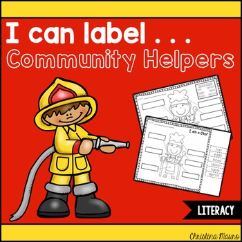 I Can Label . . . Community Helpers