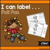 I Can Label . . . Fall Fun