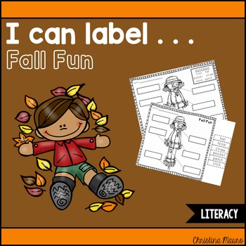 I Can Label . . . Fall Fun