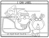 I Can Label! Writing Workshop - Write On (Tool Sheet) - CHRISTMAS