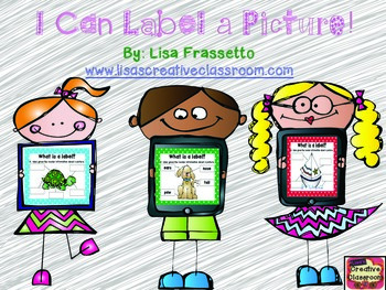 I Can Label a Picture!