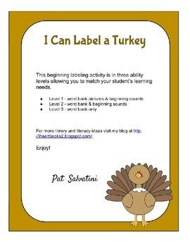 I Can Label a Turkey