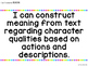 I Can Language Arts Statements