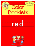 Red Color Activity Book
