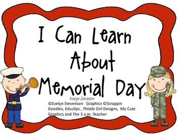 I Can Learn About Memorial Day