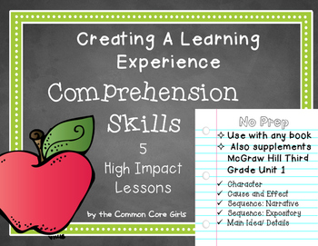 I Can Learn Common Core Comprehension Skills by Doing: Act