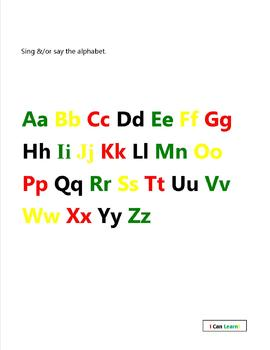 I Can Learn My ABC's
