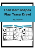 I Can Learn Shapes: Play, Trace, Draw!
