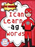 I Can Learn -ag cvc Words