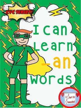 I Can Learn -an CVC Words