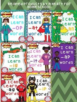 I Can Learn -en CVC Family Words!