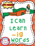 I Can Learn -ig CVC words