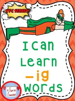 I Can Learn -ig CVC words