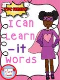 I Can Learn -it CVC Words