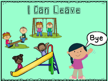 I Can Leave for Mom and Dad Social Story