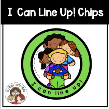 I Can Line Up! Classroom Management Tool