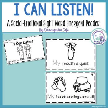 "I Can Listen! A Sight Word Emergent Reader ""my"""