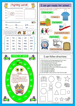 'I Can' Literacy Unit