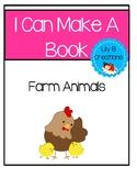 I Can Make A Book - Farm Animals Freebie #6
