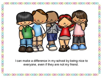 I Can Make A Difference Posters for Classroom