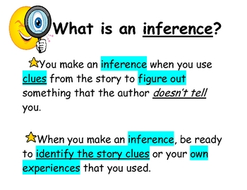 I Can Make An Inference Poster