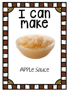I Can Make Applesauce