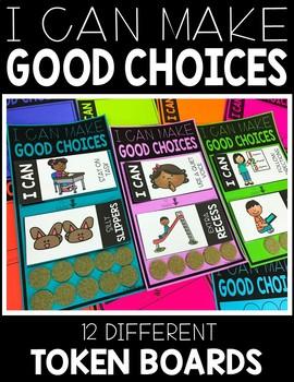 I Can Make Good Choices Behavior Management Bundle