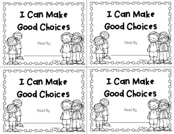 I Can Make Good Choices Book