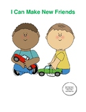 I Can Make New Friends: A Social Story Book for Children w