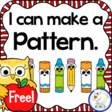 I Can Make Patterns Freebie